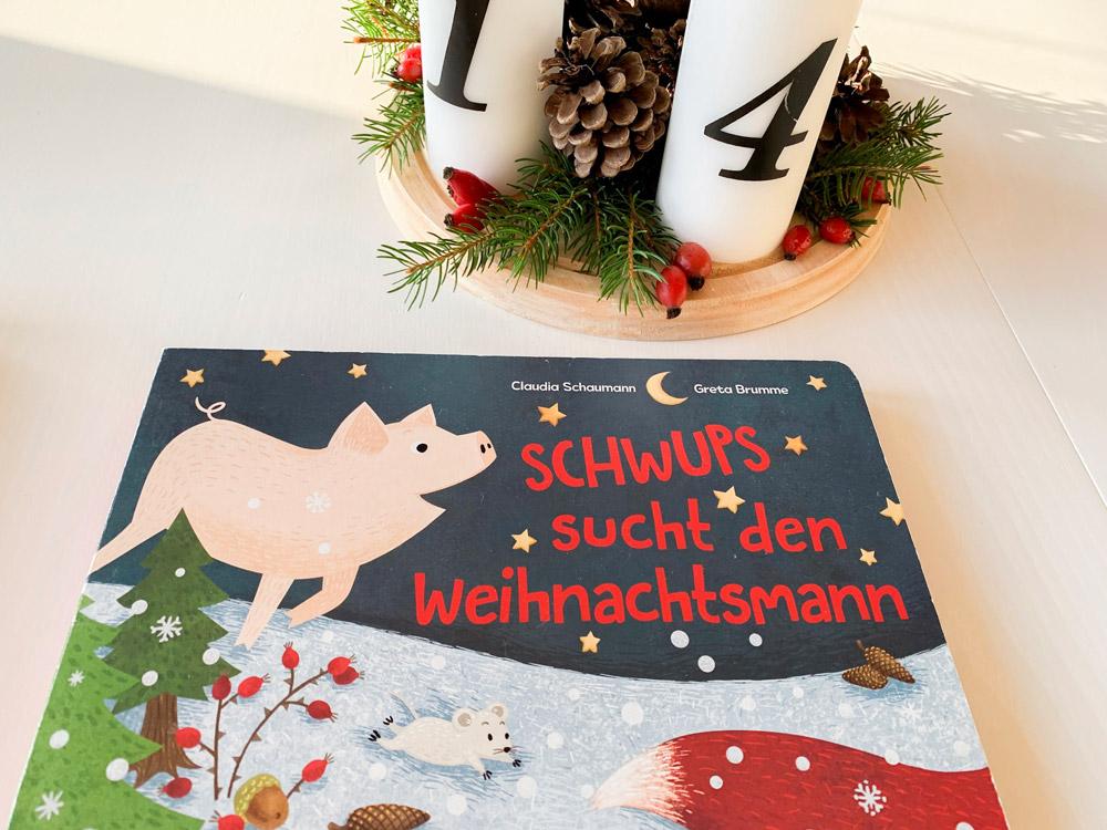Bücher zur Adventszeit – Schwups sucht den Weihnachtsmann